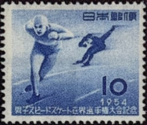 男子スピードスケート世界選手権記念